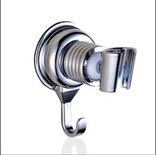 Vacuum Suction Cup Handheld Shower Bracket Bathroom Wall Head Holder Mount with Towel Hook