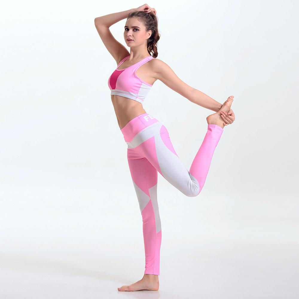 new summer stitching yoga vest jogging fitness shock collection speed drying sports bra