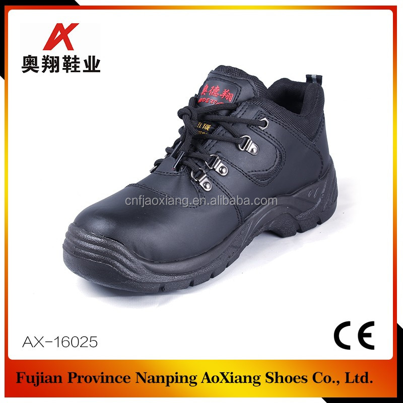 Multi-functional Police Shoes with Steel Toe