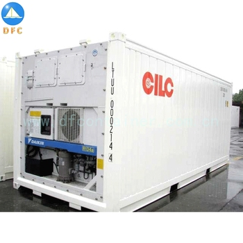 China 20GP 40GP 40HC Cold Fresh Vegetable Refrigerator Containers Reefer Container Hot Pop