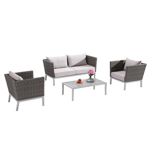 Simple Design Hotel Garden Furniture Outdoor Rattan Sofa