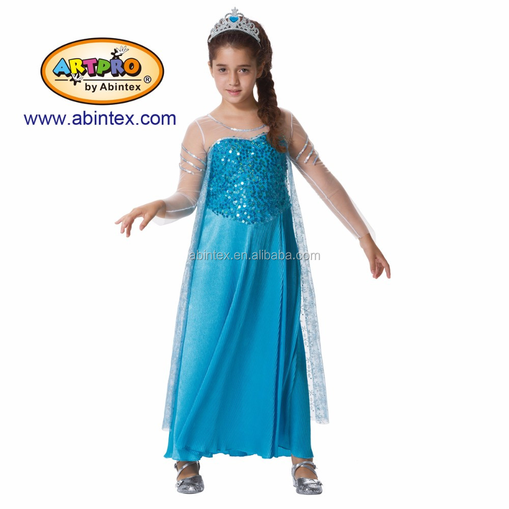 Elsa costume (14-023) as princess costume, Frozen costume