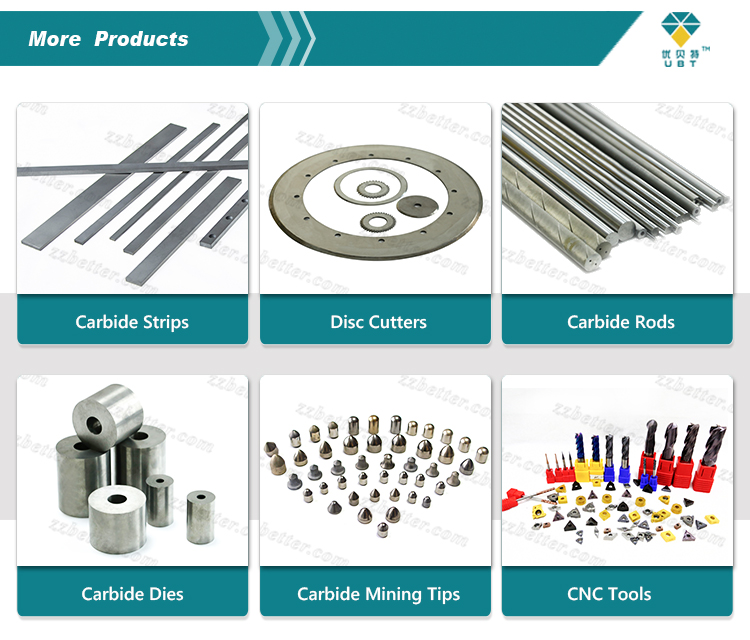 Extruded carbide rods