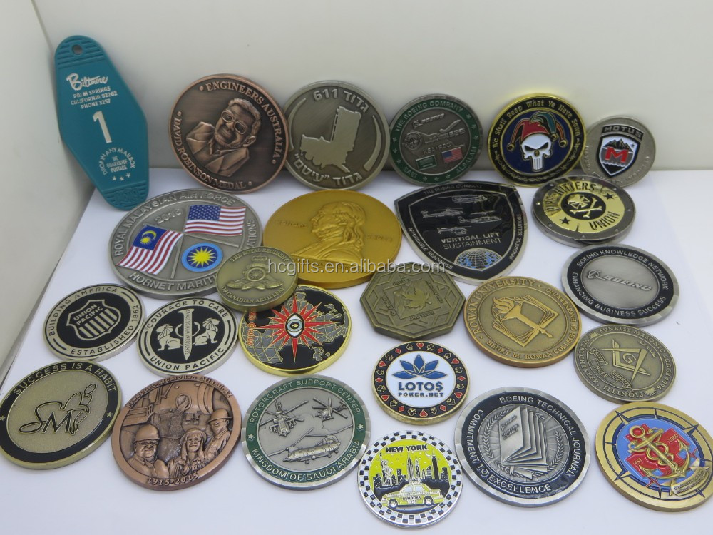 Free artwork design quality guaranteed cheap custom USN challenge coins