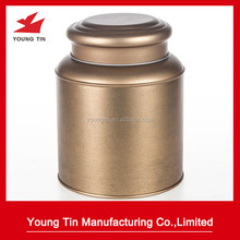 tea storage tins wholesale large emtpy metal tin box