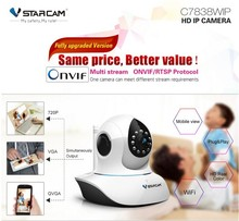 VStarcam wireless wifi ip cctv camera c7838wip plug and play home security 1mp ip camera pan and tilt night vision