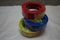 1.5mm 450/750V PVC insulated copper wire , electric house wire , cable wires