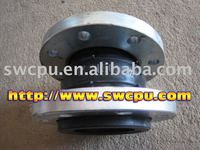 Single sphere flanged expansion rubber joints