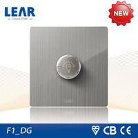 Multifunctional light dimmer switch with indicator light
