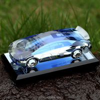 The crystal model of car for souvenir gifts