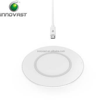 Wireless Charger Ultra-Slim Wireless Charging Pad For iPhone 8 / 8 Plus, iPhone X, Galaxy Note 5, S7/S7 Edge/S6/S6 Edge/S6