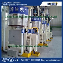 Supply Corn Oil Machine , Rice Bran Oil, Sunflower Oil Winterization Dewaxing Production Line oil refining with CE-SINODER Brand