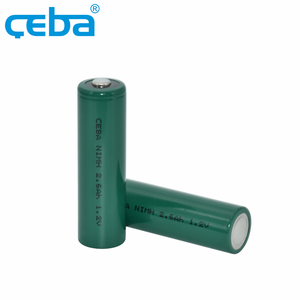 OEM High Energy Density 1.2V 2600mAh Battery Cells Nimh AA Rechargeable