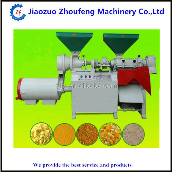 High quality industrial wheat flour making machine small corn grits mill