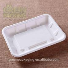 Sugarcane waterproofing biodegradable meat tray size 295x215x35mm