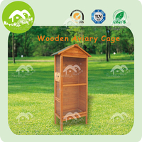 BC-770 wooden outdoor custom wholesale wire bird breeding cage