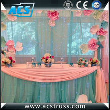 ACS pipe and drape for wedding, show, events/side drape wedding dress