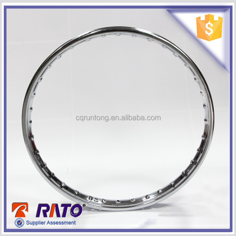 High recommended chrome plated motorcycle steel wheel rims 17 inch