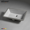 Bathroom Sink Rectangle Modern Design Green