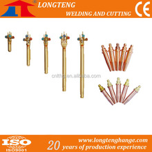 CNC Oxy-fuel Cutting Torch , Oxygen Acetylene Torch for CNC Flame Cutting Machine