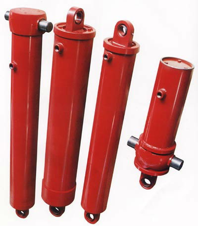 Two Stages Hydraulic Cylinder For Tipper Truck