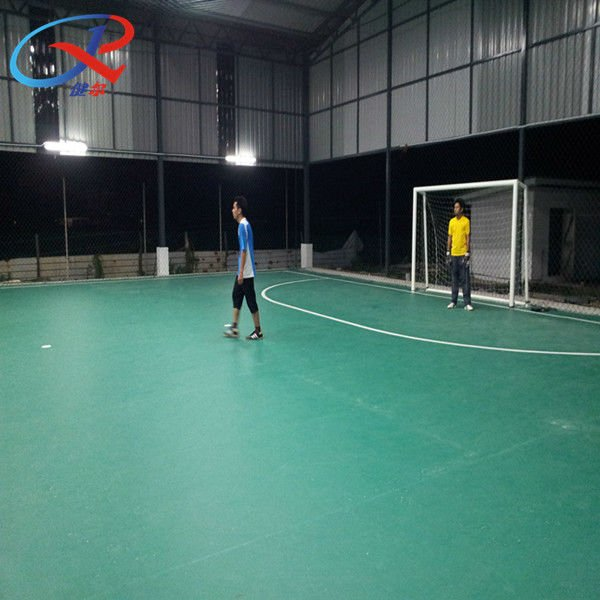 Indoor Soccer Rubberized Flooring