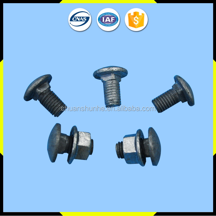 Economic top sell long nut quick fasteners