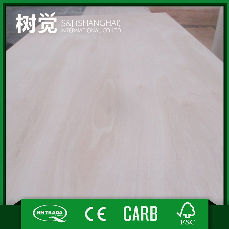 China wholesale products promotional eucalyptus plywood with solid wood