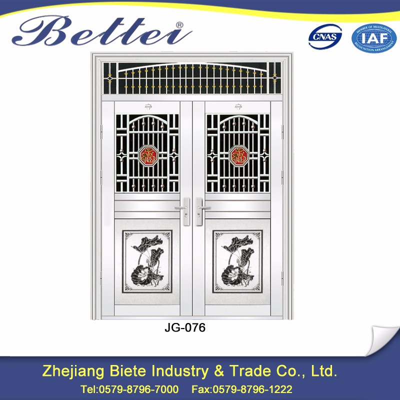 High Quality main gate stainless steel grill door design