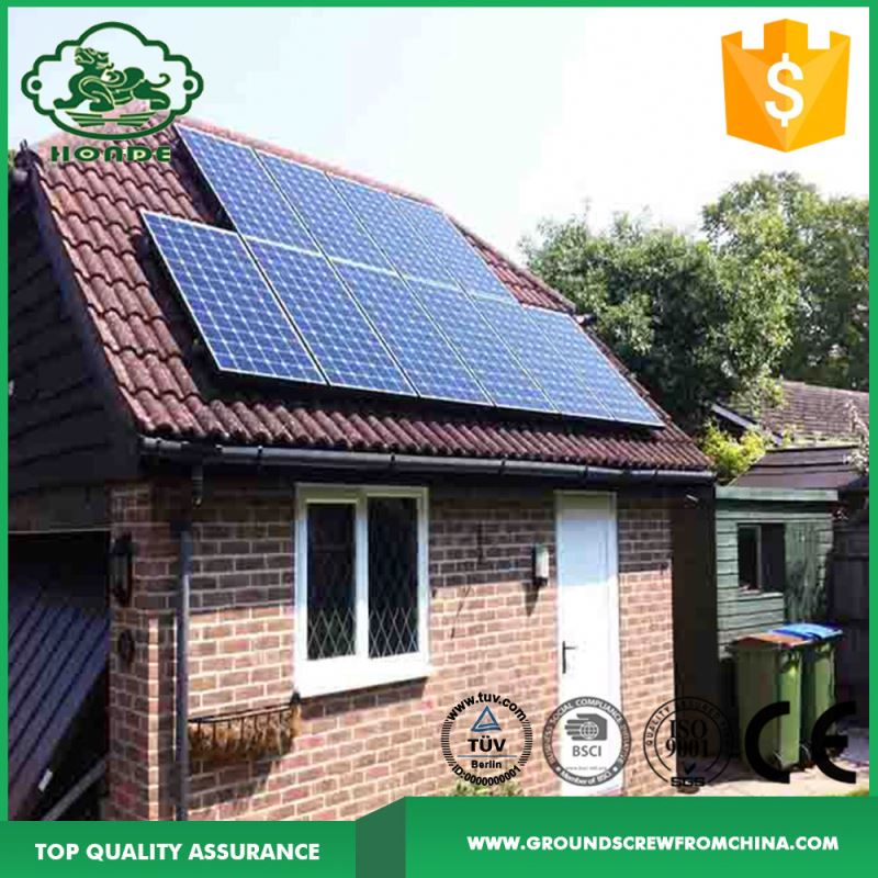 Pitched Roof Solar Panel Mounting Stand