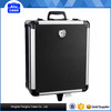 Cheap price hot aluminium trolley travel lether suitcase
