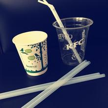 corn starch drinking straw biodegradable pla