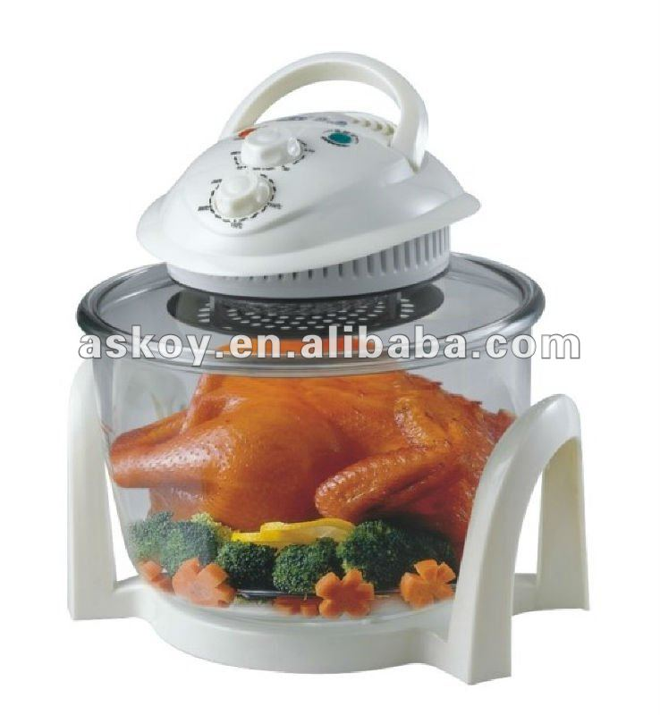 High quality 7L Electircal flavor wave halogen oven with CE/GS/ROHS/LFGB