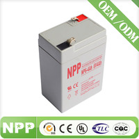 Most popular high quality 6v 4ah rechargeable lead acid battery