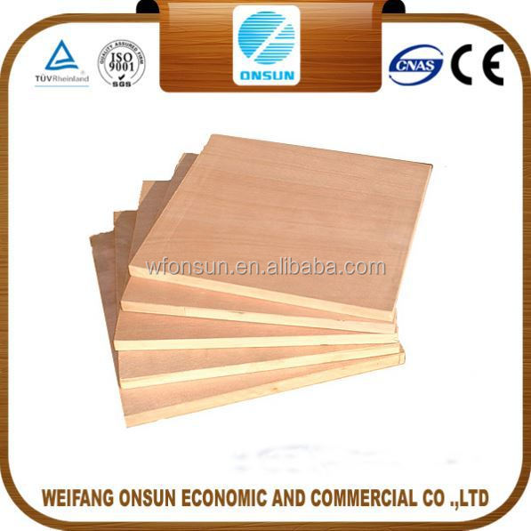 the cheapest stable quality commercial plywood woods produce in china factory for sale