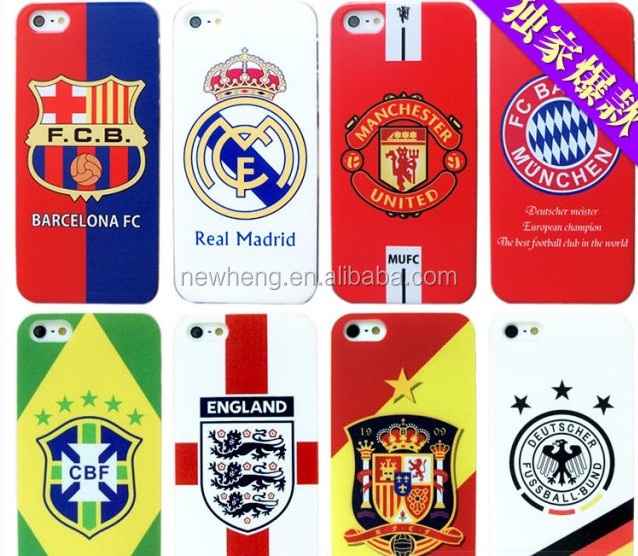 football star mobile phone case/cover for iphone 5