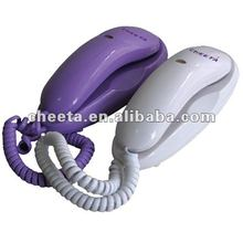 cheap Single Line Wall Telephone Mini Trimline Phone