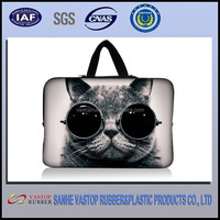 Promotion Cat Neoprene Computer Bag Portable Laptop Sleeve