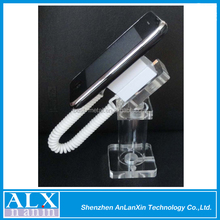 Low Price Crystal Acrylic Dummy Cell Phone Security Display Holder/Stand/Bracket