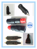 Wholesale led light car cigarette lighter ,car cigarette lighter plug to socket