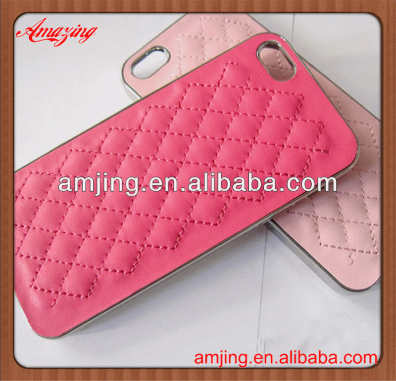 Factory price pu leather case for iphone 5