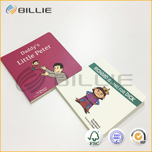 Lead Free Customized Colorful A4 Thin Cardboard Cover Children's Picture Book Printing