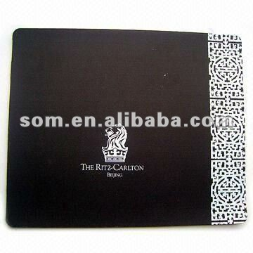 Fabric and 3MM Rubber Material Mouse Pad