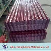 Color Corrugated Metal Roof Manufacturers