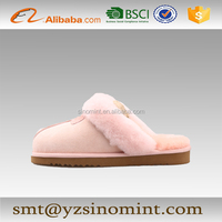 Australia cheap women high quality winter nuk genuine sheepskin slipper
