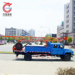 Tractor mounted water well drilling rig portable shallow water oil drilling rig Saudi Arabia