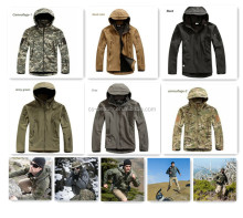 Lurker Shark skin Soft Shell Jacket Outdoor Military Jacket Waterproof Windproof Sports Army Clothing 6 colors