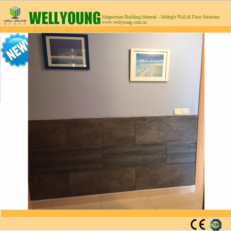 Granite Grain PVC tiles for interior wall, easy to clean