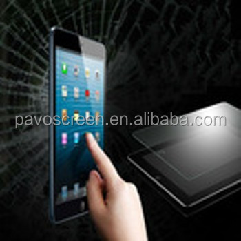 mirror effect screen protector,high clear tempered glass screen protector for iPad 2/3/4
