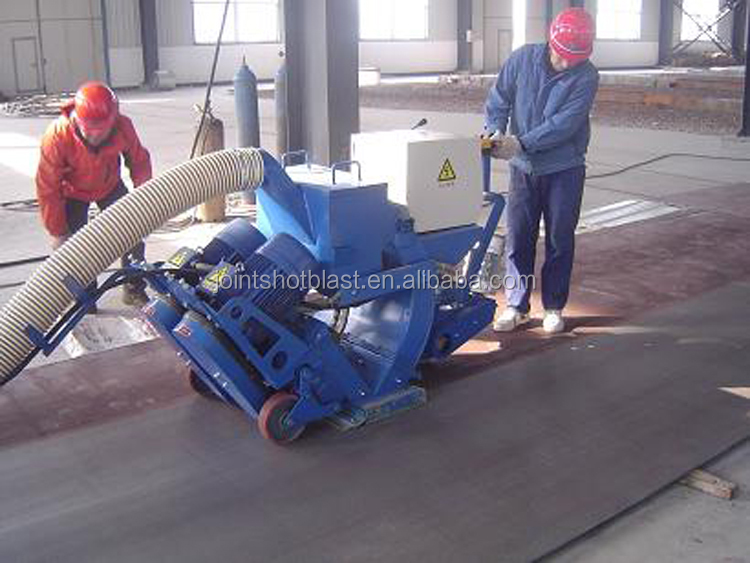 asphalt pavement shot blasting machine/portable sandbalster/portable sand blasting machine